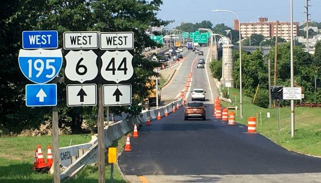 DOT to look for a solution after Gano St exit closure snarls traffic
