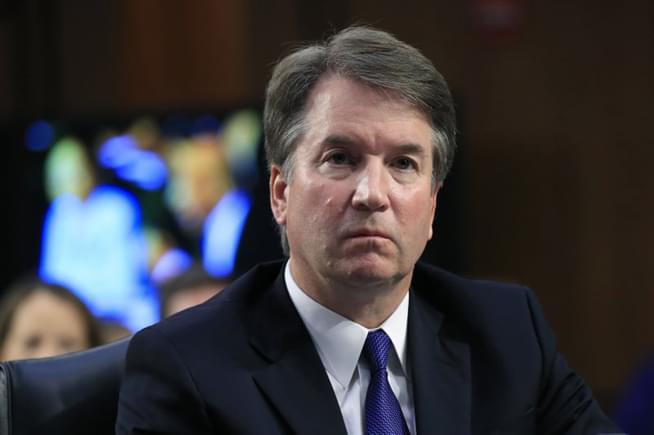 Brett Kavanaugh will not return to teach at Harvard Law
