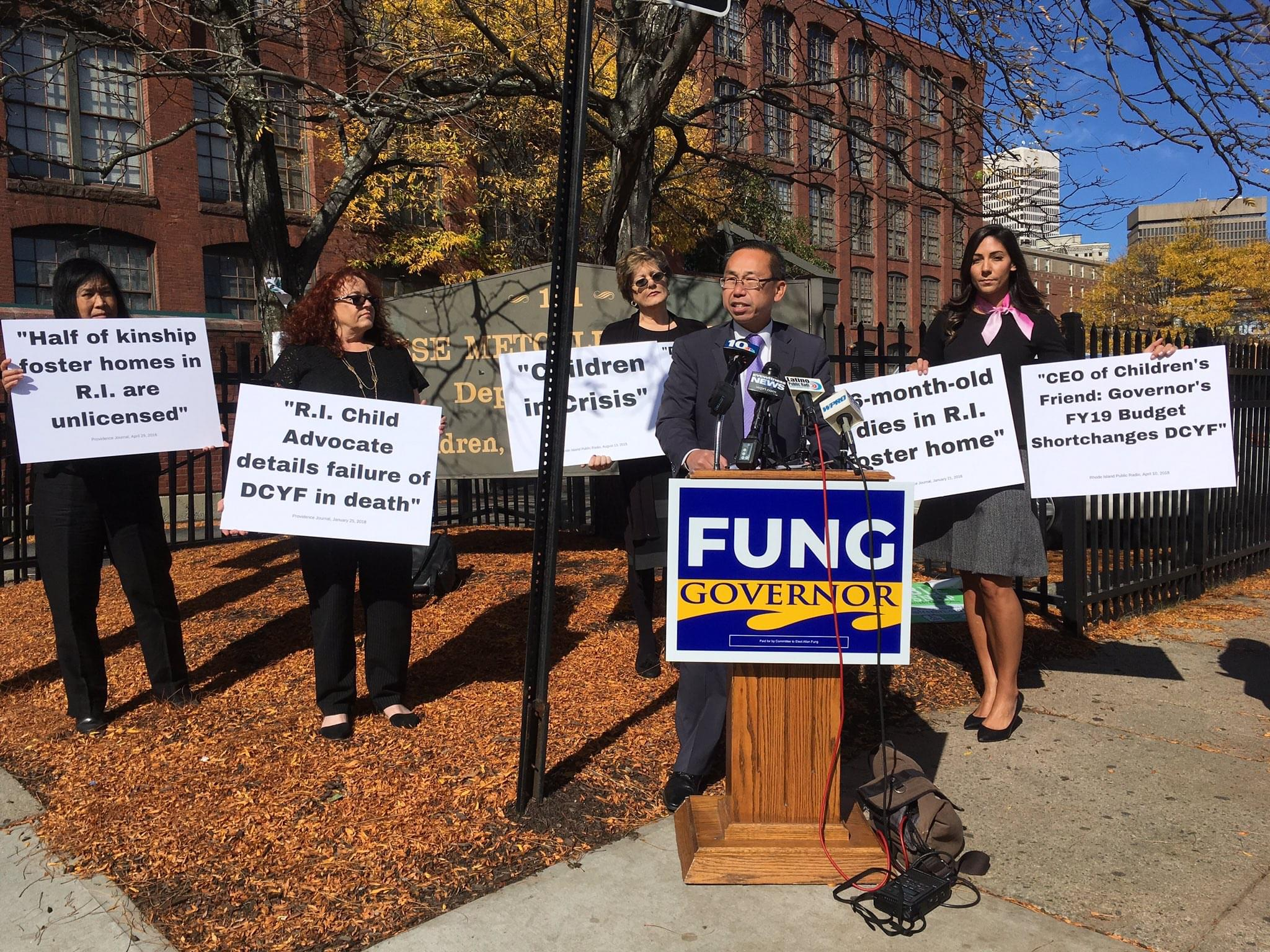 Fung lays out plans for DCYF reforms, criticizes Raimondo