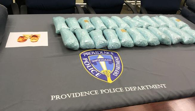 Providence police seize a record amount of heroin