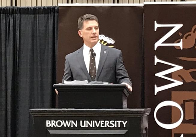 Brown University names James Perry new football coach