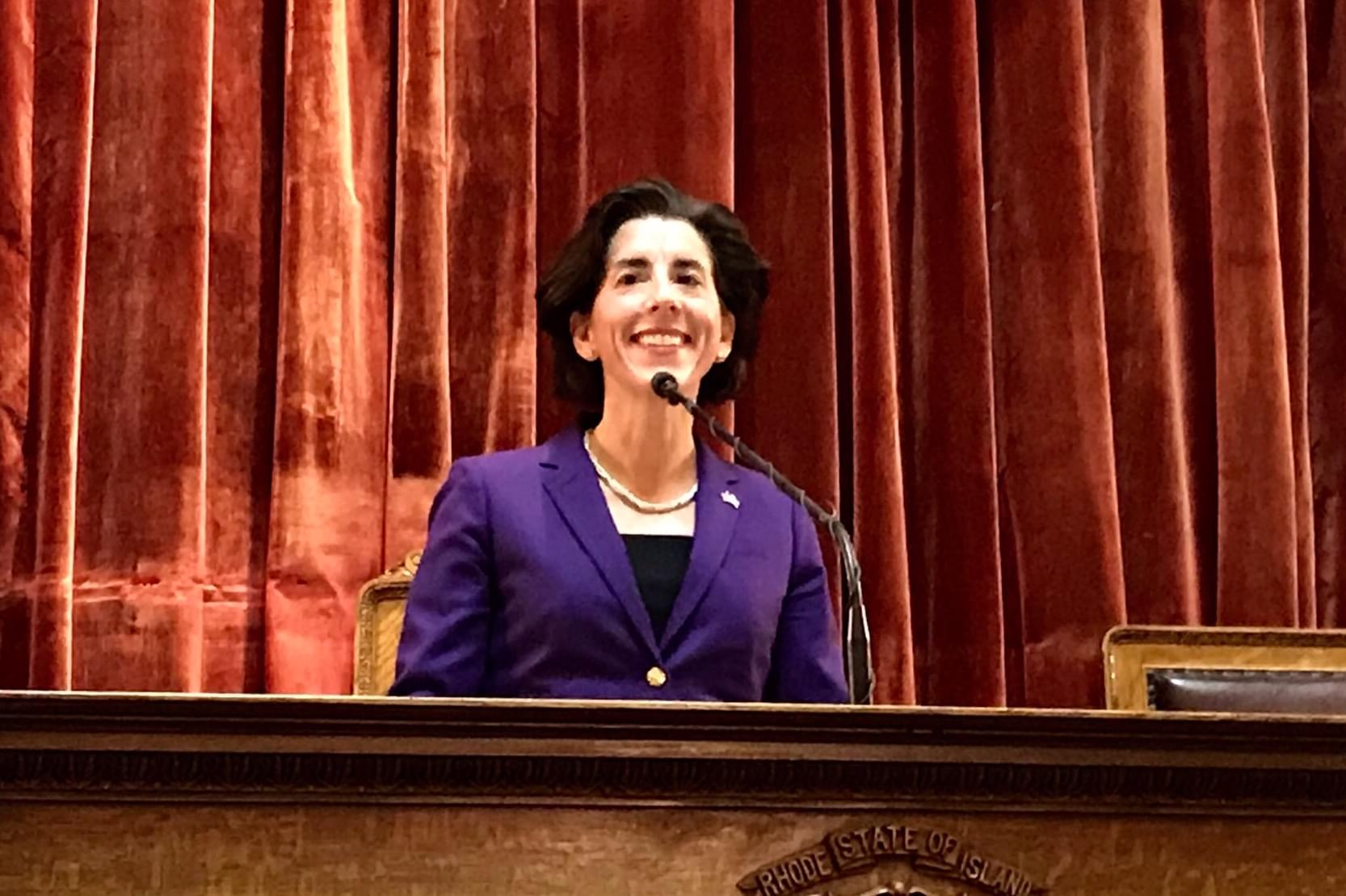 Education a focal point of Raimondo's State of the State