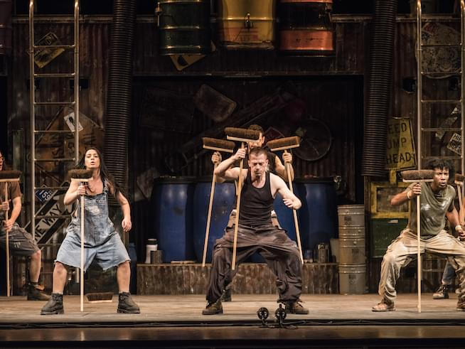 Stomp at PPAC Is Noisy Fun