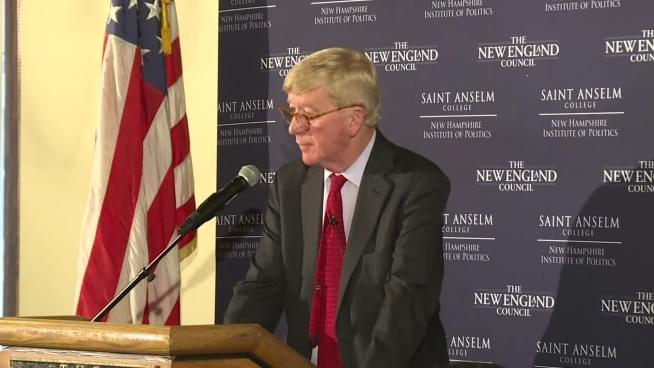 PODCAST: Weld says he is seeking GOP nomination for president in 2020