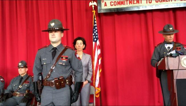 State police detective honored for heroic acts