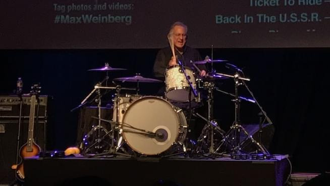Max Weinberg is a rocking fun time at the Odeum