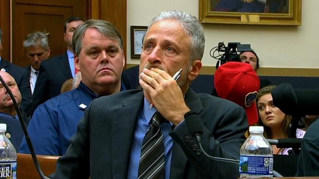 Day after Jon Stewart plea, House panel advances bill to boost 9/11 Victims Fund