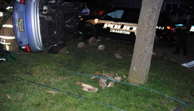 Man charged with DUI after crash with police cruiser