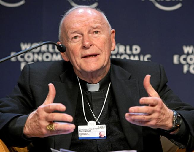 Ex-cardinal's letters to victims show signs of grooming