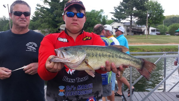 Kiss My Bass Grand Prize Winner: Cameron Bankston!