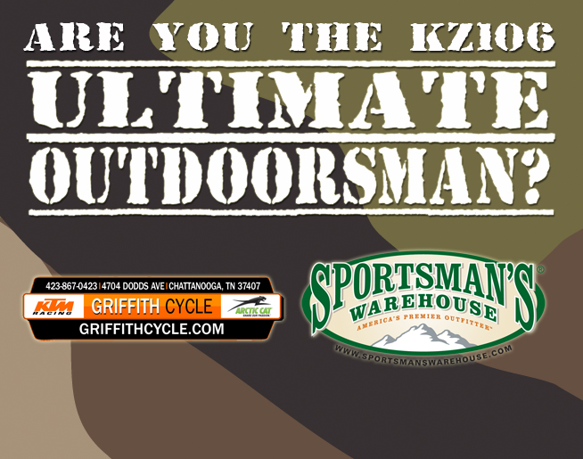 Are you the KZ106 Ultimate Outdoorsman?