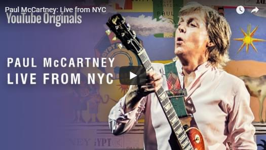Watch Paul McCartney's Intimate Grand Central Station Concert!