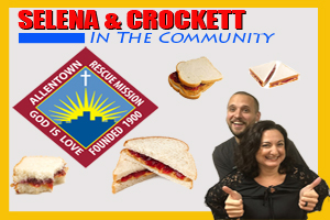 Selena & Crockett in the Community