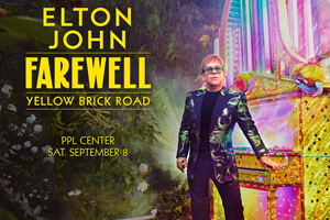 JUST ANNOUNCED: 100.7 LEV Welcomes Sir Elton John to the PPL Center