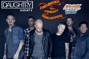 100.7 LEV Presents Daughtry at Musikfest