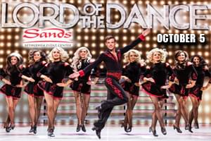 100.7 LEV Welcomes Lord of the Dance to Sands Bethlehem Event Center
