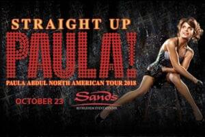 Straight Up Paula! at Sands Bethlehem Event Center