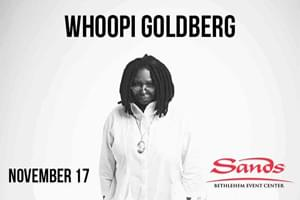 100.7 LEV Welcomes Whoopi Goldberg to Sands Bethlehem Events Center