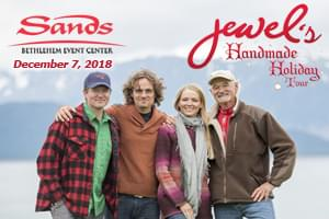 100.7 LEV Presents Jewel's Handmade Holiday Tour
