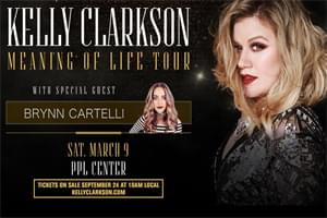 100.7 LEV Welcomes Kelly Clarkson to the PPL Center