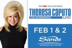 100.7 LEV Welcomes Theresa Caputo to the Sands Bethlehem Event Center