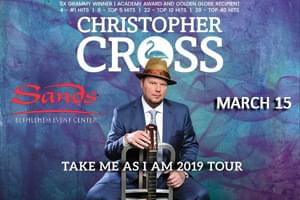 100.7 LEV Welcomes Christopher Cross to the Sands Bethlehem Event Center