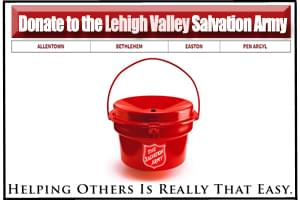 Donate to the Lehigh Valley's Salvation Army Red Kettle!