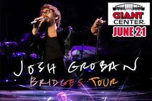 100.7 LEV Welcomes Josh Groban to the Giant Center in Hershey