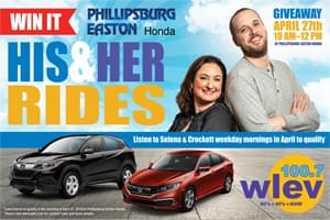 His & Her Rides from Phillipsburg Easton Honda