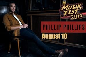 100.7 LEV Presents Phillip Phillips to Musikfest!
