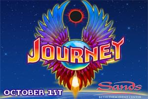 100.7 LEV Welcomes Journey to Sands Bethlehem Event Center