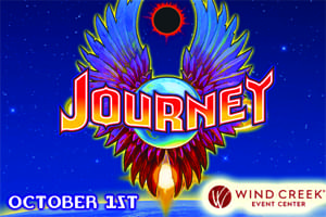 100.7 LEV Welcomes Journey to Wind Creek Event Center