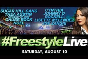 Freestyle LIVE at The Summer Stage at Mount Airy August 10