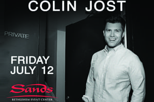Colin Jost at The Sands Event Center July 12