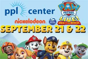 WLEV Welcomes 'Paw Patrol Live: Race to the Rescue' to the PPL Center