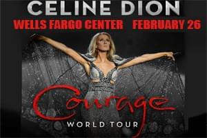 Celine Dion at Wells Fargo Center Feb 26