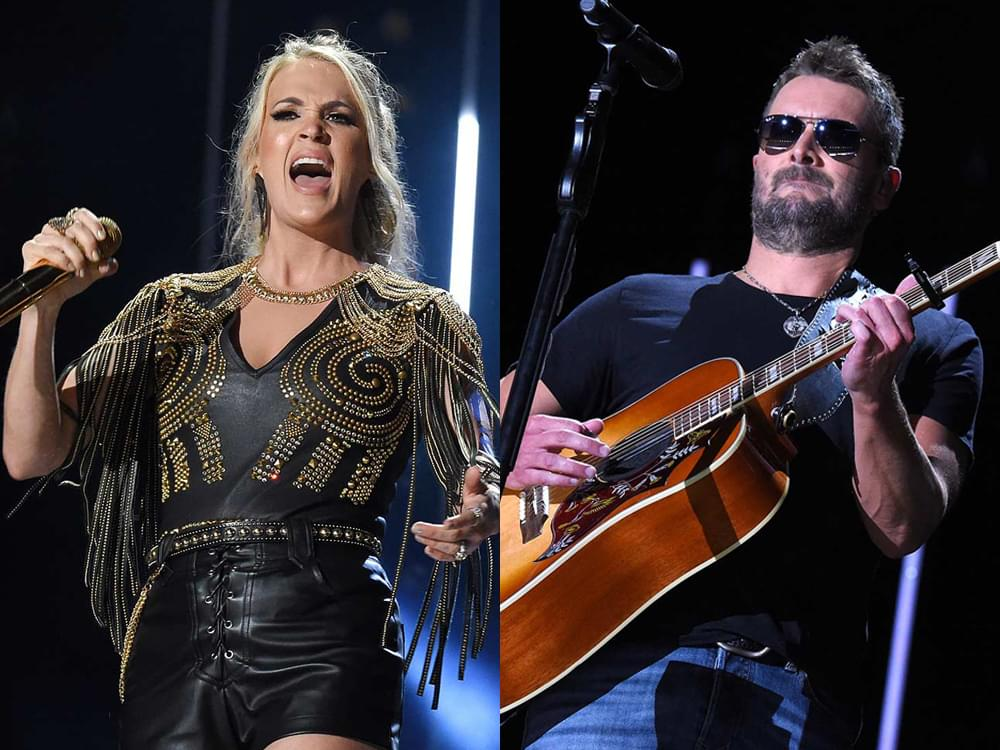 Photo Gallery: CMA Fest's Nissan Stadium Night 2 With Carrie Underwood, Eric Church, Dan + Shay, Thomas Rhett, Little Big Town & More
