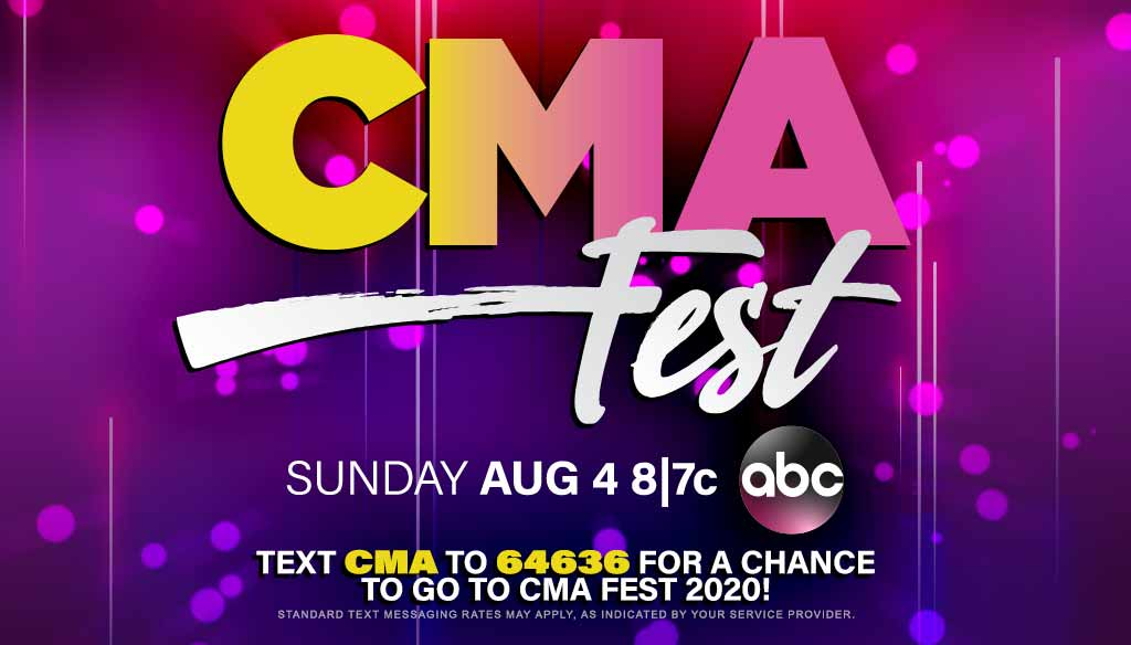 Tune in to CMA Fest on ABC