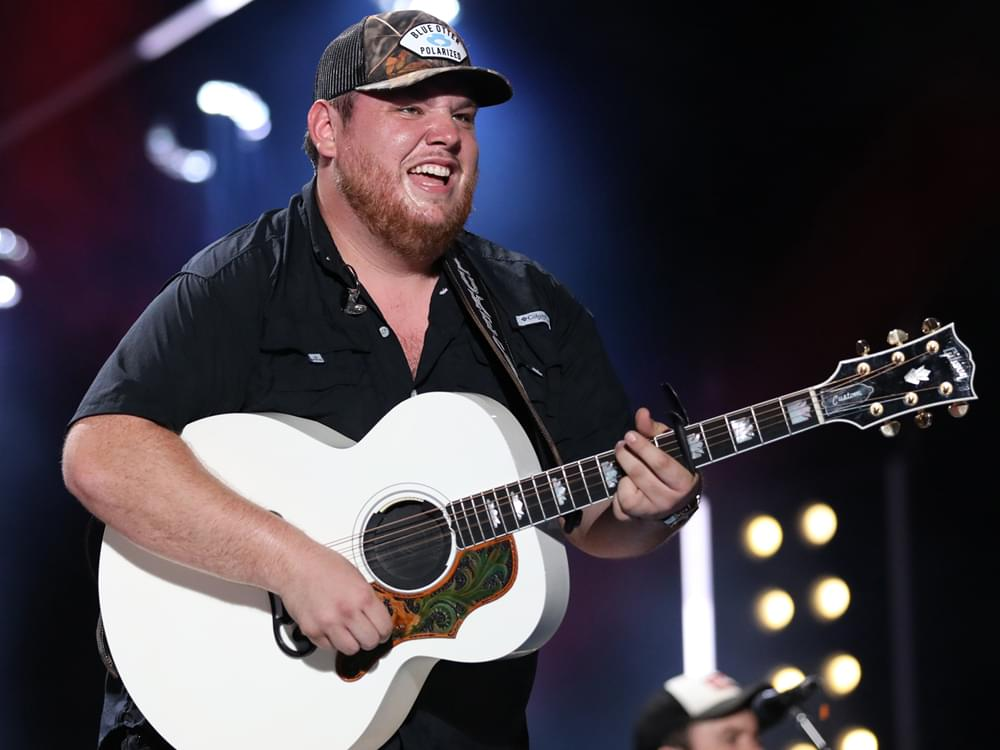 "Listen to Luke Combs' Affable New Tune, ""Let's Just Be Friends,"" From ""Angry Birds Movie 2"""