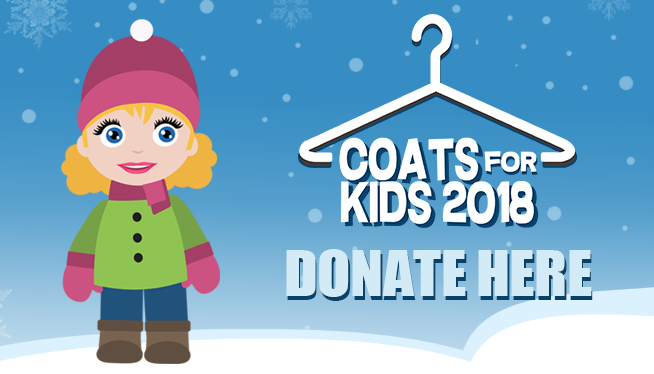 Coats for Kids 2018