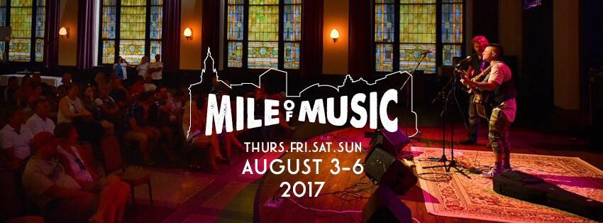 Mile of Music 2017: Mile 5 first 50 announced!