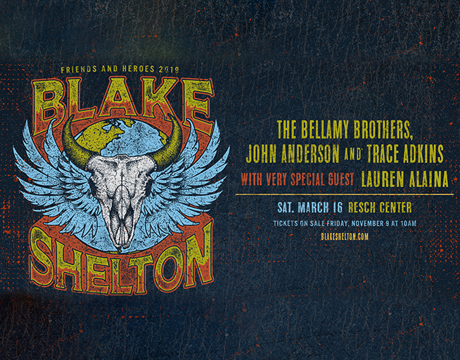 JUST ANNOUNCED: BLAKE SHELTON