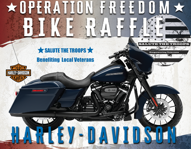 Operation Freedom Bike Raffle