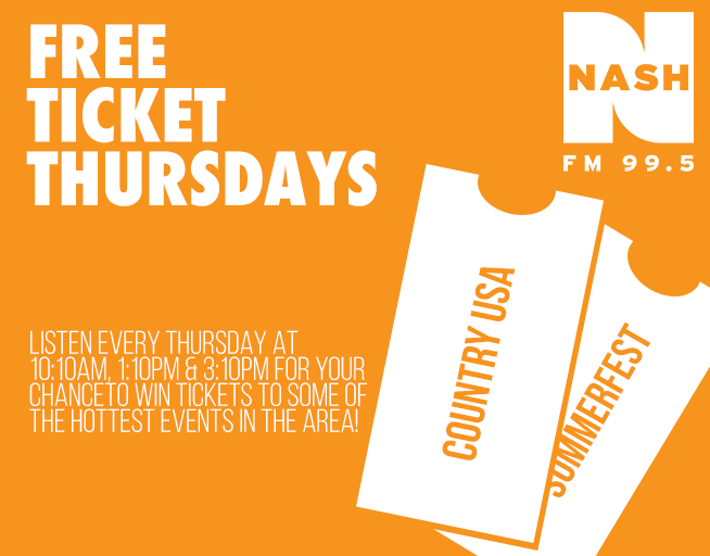 Free Ticket Thursdays