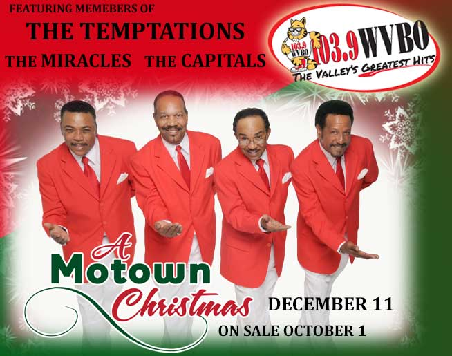 WVBO Welcomes A Motown Christmas