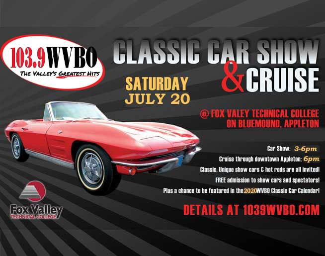 Nada Classic Cars >> Classic Car Show And Calendar Wvbo Fm