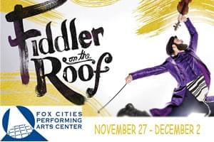 Fiddler on the Roof at PAC