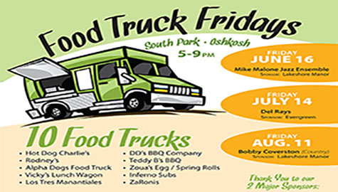 Oshkosh Food Truck Fridays