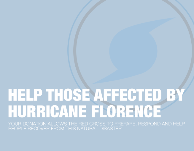 Help Those Affected By Hurricane Florence