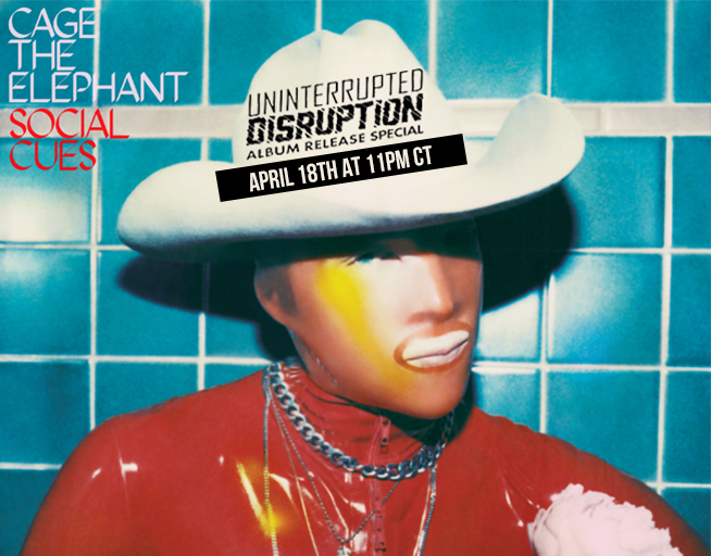 Uninterrupted Disruption with Cage The Elephant